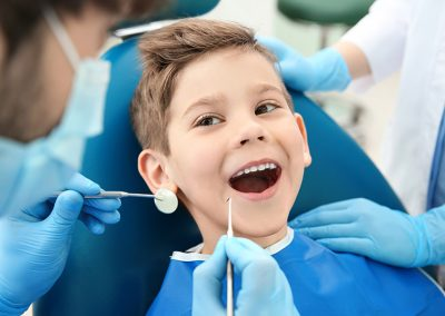 Dentista bambini como